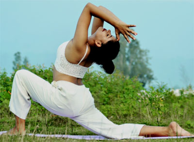 Yoga in IDPL Colony, Rishikesh, Dehradun, Uttarakhand, India