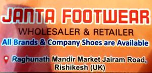 Footwear in Ghat Road, Rishikesh, Dehradun, Uttarakhand, India