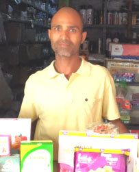General Store in IDPL Colony, Rishikesh, Dehradun, Uttarakhand, India